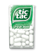 Fresh Mint Tic Tac's 18g